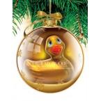 Canard Vibrant de Noël - Gold